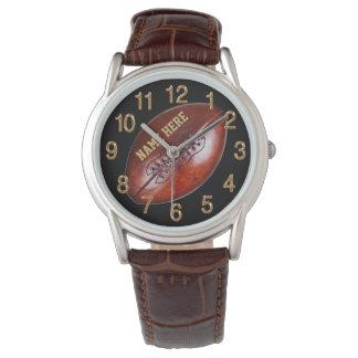 Relógios personalizados do futebol para jogadores,