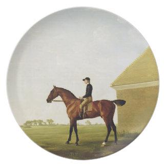 Relvado, c.1765 (óleo em canvas) (veja 152743) pratos de festas