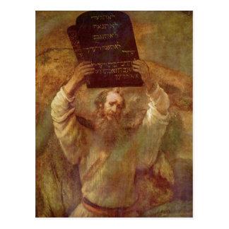 Rembrandt Harmensz. antro Gesetze do mit de camion Cartão Postal
