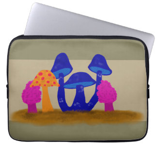 Remendo do cogumelo capa para notebook