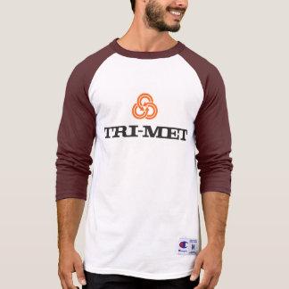 reminiscência do basebol de 70s TriMet Tshirts