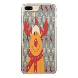 Rena Capa Para iPhone 7 Plus Carved