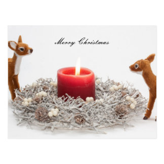 Renas do Feliz Natal Cartão Postal