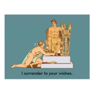 Rendição alegre do aniversário aos desejos cartão postal