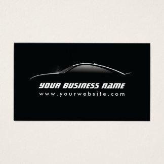 Reparação de automóveis legal automotriz do esboço cartão de visita
