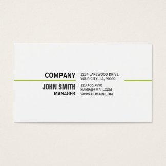 Reparo branco elegante liso profissional do cartão de visitas
