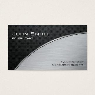 Reparo de prata moderno elegante profissional do cartão de visitas