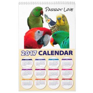 Repita mecanicamente o calendário do amor 2017,