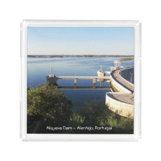 Represa de Alqueva - o Alentejo, Portugal Bandeja De Acrílico