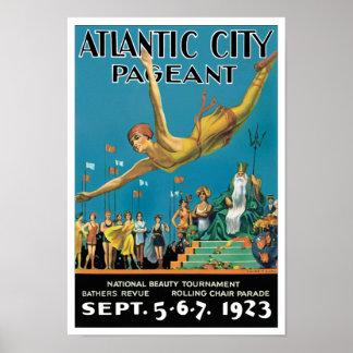 Representação histórica de Atlantic City Poster