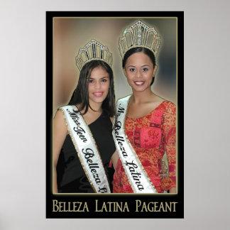Representação histórica de Belleza Latina - 1 Poster