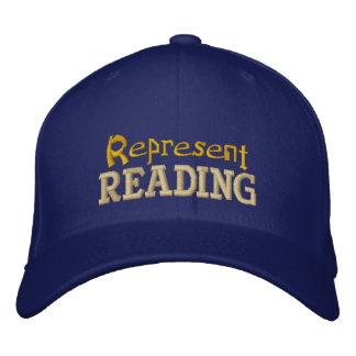 Represente o boné da leitura
