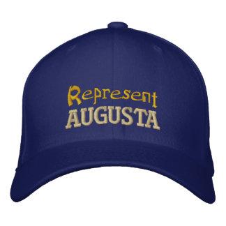Represente o boné de Augusta