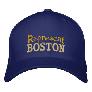 Represente o boné de Boston