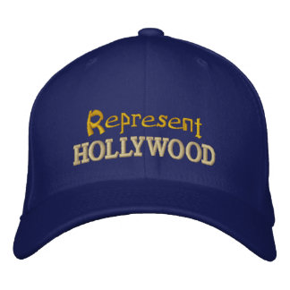 Represente o boné de Hollywood