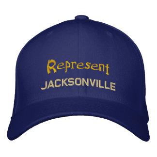 Represente o boné de Jacksonville