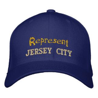 Represente o boné de Jersey City