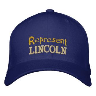 Represente o boné de Lincoln