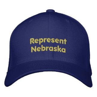 Represente o boné de Nebraska