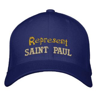 Represente o boné de Saint Paul