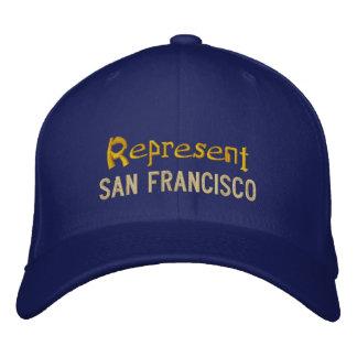 Represente o boné de San Francisco