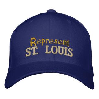 Represente o boné de St Louis