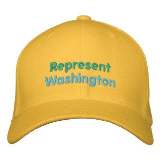 Represente o boné de Washington