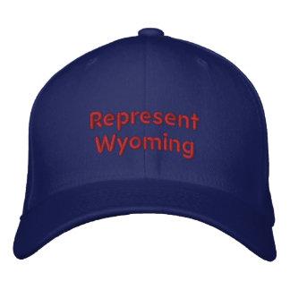 Represente o boné de Wyoming