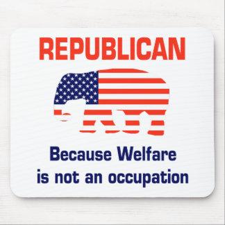 Republicano engraçado - bem-estar mouse pad