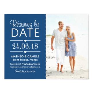 Réserver la Date du Mariage | Cartes Avec Photo Convite Personalizados