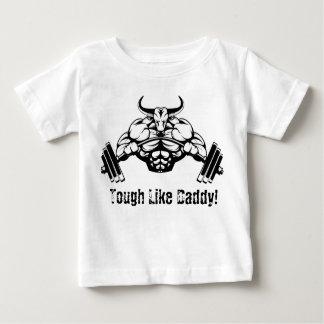 Resistente como a camisa do bebê do halterofilismo