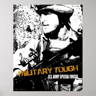 Resistente militar pôsteres