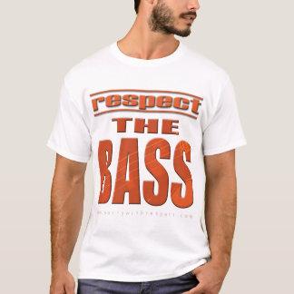 Respeite o baixo tshirt