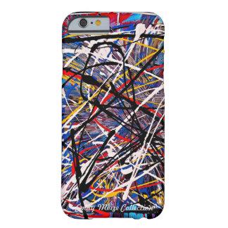 Respingo da cor (coleção de Emily Moize) Capa Barely There Para iPhone 6