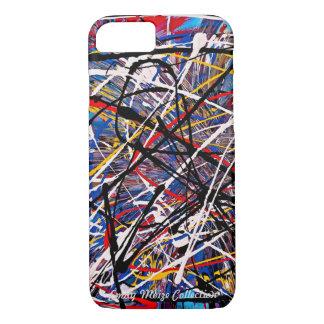 Respingo da cor (coleção de Emily Moize) Capa iPhone 7