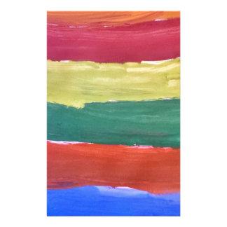Respingo das cores papelaria