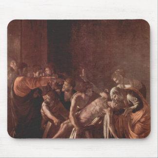 Ressurreição de Caravaggio- de Lazarus Mousepad