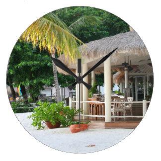 Restaurante e bar de Lucia de santo na praia Relógio De Parede