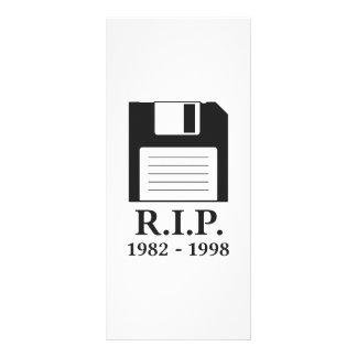 Resto na disquete do RASGO da paz 10.16 X 22.86cm Panfleto