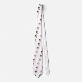 Retrato da aguarela gravata