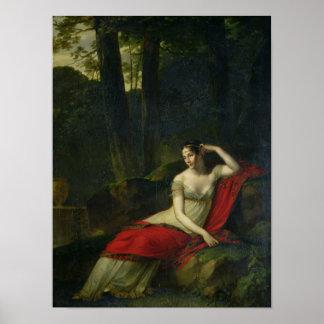 Retrato da imperatriz Josephine, 1805 Poster