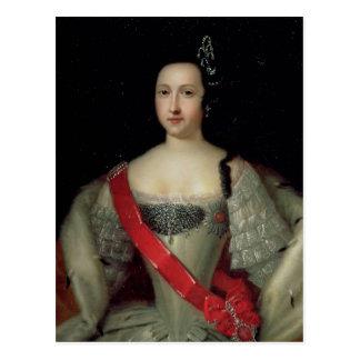 Retrato da princesa Anna Cartão Postal