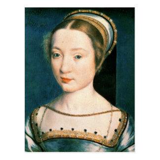 Retrato da rainha Claude Cartão Postal