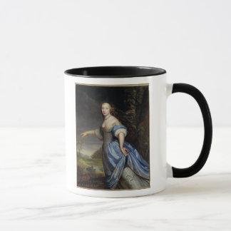 Retrato da senhora de la Sabliere Caneca