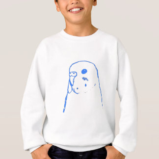 Retrato de Budgie do Aqua Tshirts