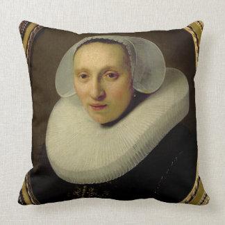 Retrato de Cornelia Pronck, esposa de Albert Almofada