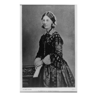 Retrato de Florence Nightingale Posteres
