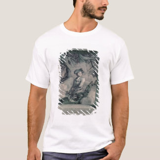 Retrato de John Paul Jones Camiseta