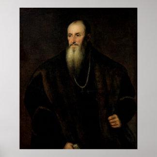 Retrato de Nicolas Perrenot de Granvelle, 1548 Poster