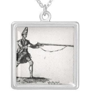 Retrato de um soldado, 1753 pingentes
